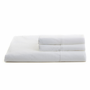 Solid White Full Sheet Set