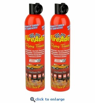 2-Pack of 22 oz FireAde Racing Formula Fire Suppression Unit - Liquid Foam Wetting Agent