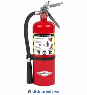 5 lb. Multi-Purpose Fire Extinguisher 2A:10B:C - Amerex B500