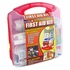 50-Person OSHA First Aid Kit 234-Piece - Plastic Case with Wall Mount Bracket