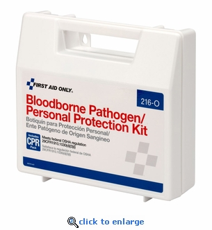Bloodborne Pathogen Clean-Up Kit - Personal Protection Kit - 216-O