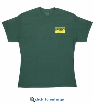 CERT T-Shirt with Front CERT Logo and Large CERT Letters on Back