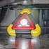 COB LED Safety Warning Triangle & Work Light with Stand & Handle - 500 Lumen - 4 Light Settings
