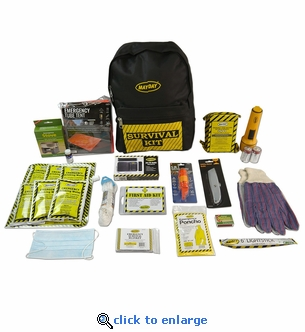 Deluxe 1 Person Emergency Backpack Kit