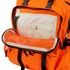 Deluxe Orange  Emergency Backpack - Gear Bag - Nylon