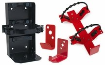 Fire Extinguisher Brackets, Wall Hooks & Vehicle Mounting