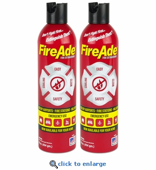 FireAde 16 oz. Fire Extinguishers - 2 Pack