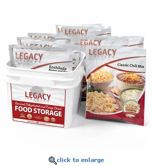Legacy 32 Serving Gluten Free 72 Hour Family Emergency Food Kit