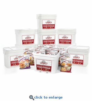 Legacy Premium 1080 Serving Package Emergency Food