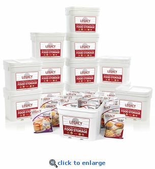 Legacy Premium 1440 Serving Package Emergency Food