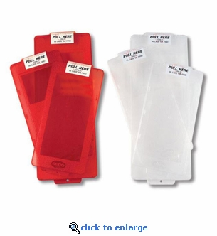 Mark I Replacement Panels For Fire Extinguisher Cabinet - Clear or Red