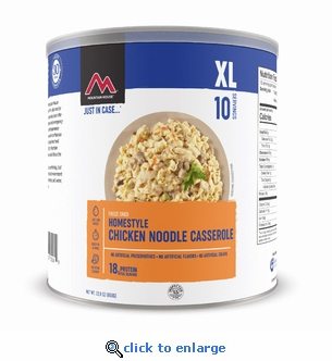 Mountain House Homestyle Chicken Noodle Casserole #10 Cans - Case of 6