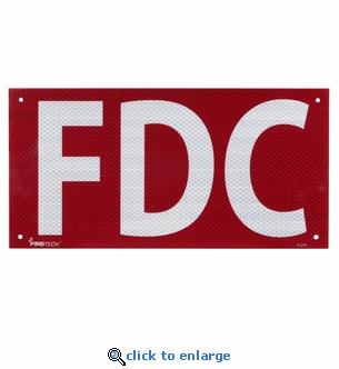 Reflective FDC Sign - Aluminum - 14