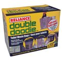 Reliance Double Doodie Toilet Bags with Bio Gel - 6 Pack