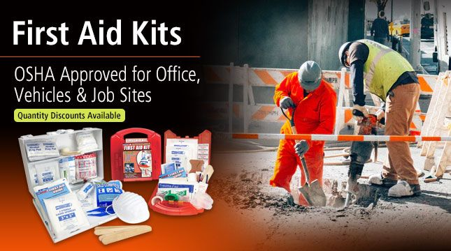 OSHA First Aid Kits and Cabinets for Home, Work and Vehicles