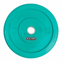 Body Solid 10lb Olympic Rubber Bumper Plates - Pair