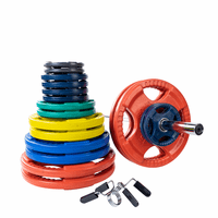 Body Solid Colored Rubber Grip Olympic Weight Sets $719.99
