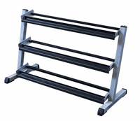 Body Solid GDR48 3 Tier Dumbbell Rack $249.99