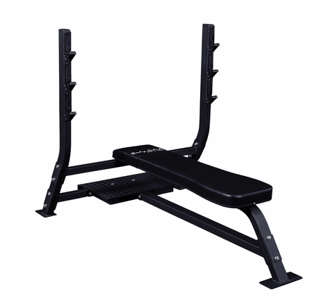 Body Solid SOFB250 Pro Clubline Flat Olympic Bench