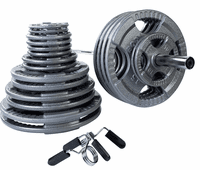 Body Solid Steel Grip Olympic Weight Set $629.00