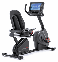 Circle Fitness R7E Commercial Recumbent Bike W/TV