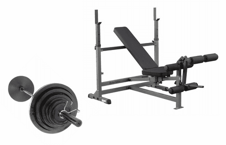 Body Solid Economy Bench Press Package