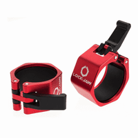 Lock-Jaw Metal 2 inch Olympic Collars (Blue, Red or Gray) $49.99