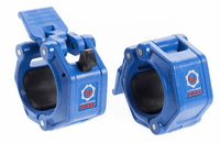 Lock Jaw Pro 2 inch Olympic Locking Collars - Blue $44.99