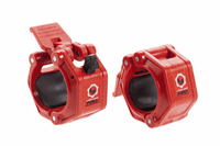 Lock Jaw Pro 2 inch Olympic Locking Collars - Red $44.99