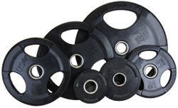 Economy Rubber Encased Olympic Weight Set - 455lbs $919.99