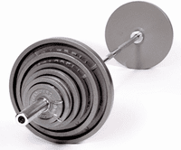 550lb Standard Olympic Weight Set  $919.00