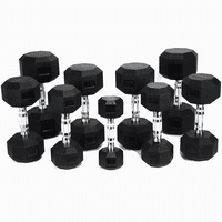 Tag Urethane Hex Dumbbells (5-50lb Set) $1,239.99
