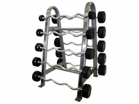 Troy Curl Rubber Barbell Package $2,699.00