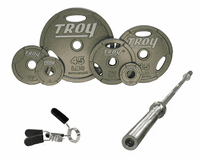 Troy Interlocking Grip Olympic Weight Sets $649.99