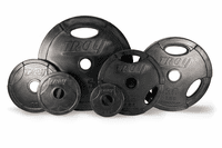 Troy Rubber Coated Olympic Weight Plates - 255lbs $649.99