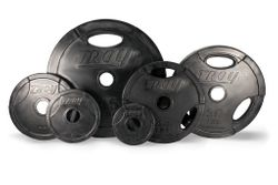 Troy Rubber Coated Olympic Weight Plates - 455lbs $1,089.99