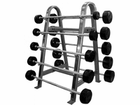 Troy Straight Rubber Barbell Package $2,599.00