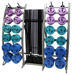 Troy TLS-PAC-C Colored Barbell Training System $3,299.00