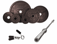 Troy Wide Flanged Black Olympic Weight Sets $619.99