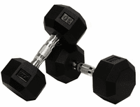 VTX 8 Sided Urethane Encased Dumbbell Sets $0.00