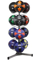 VTX Leather Wall Ball Set W/Rack $1,399.00