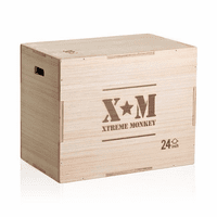 Xtreme Monkey 3-In-1 Wood Plyo Box $199.99