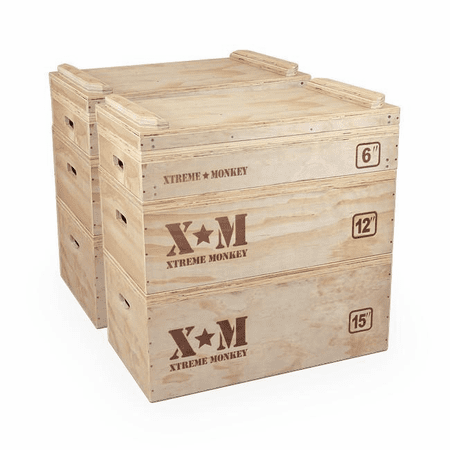 Xtreme Monkey Wooden Jerk Blocks