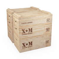 Xtreme Monkey Wooden Jerk Blocks $1,260.00
