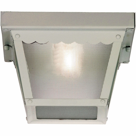 07044-WHT Savoy House Exterior Collections Flush Mount with White Finish