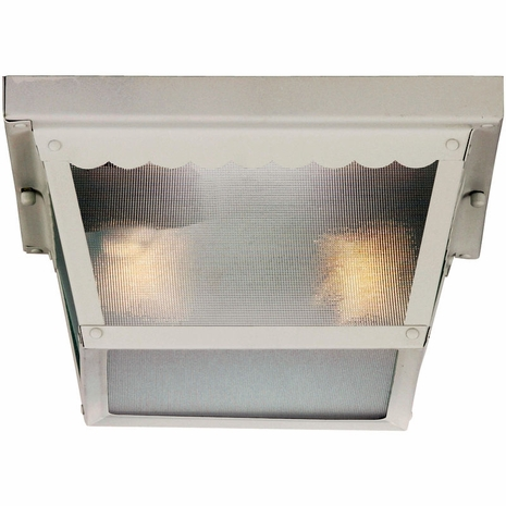 07045-WHT Savoy House Lighting Outdoor Exterior Collections Flush Mount