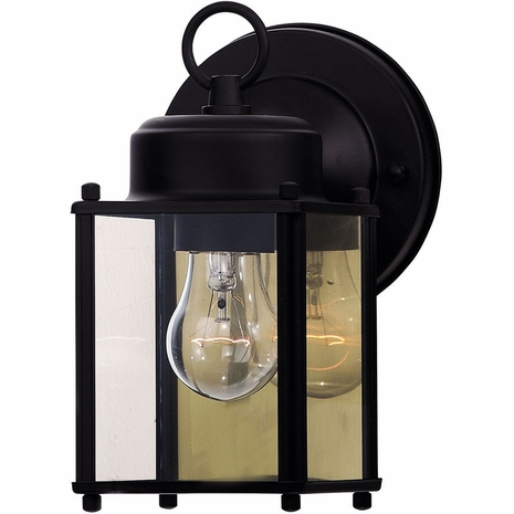 07047-BLK Savoy House Mission Exterior Collections Wall Mount Lantern in Black