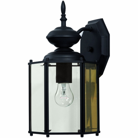 07051-BLK Savoy House Lighting Exterior Outdoor Wall Sconce Light