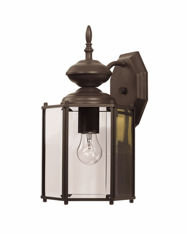 07051-BZ Savoy House Lighting Exterior Outdoor Wall Sconce Light