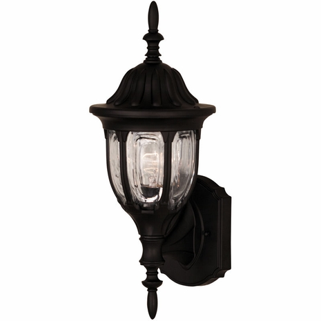 07068-BLK Savoy House Mission Exterior Collections Wall Mount Lantern in Black